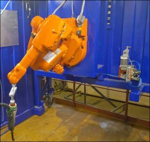 Renovatie brug robot VSE robotica motion control