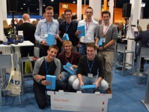 YPA Mechatronica is gewonnen door Saxion Enschede de boxfolding device