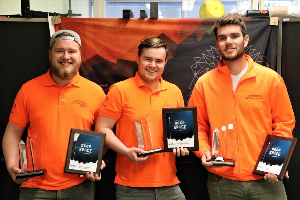 Team Rembrandts sleept 3 awards in de wacht - VSE