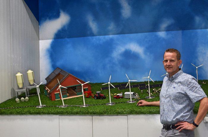 Besturing windmolen